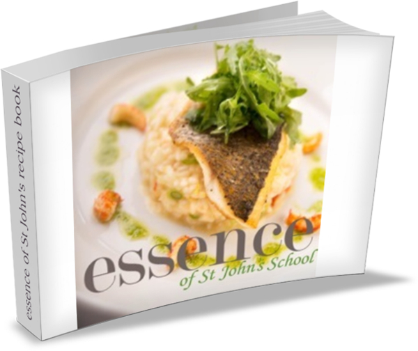 essence of st johns recipe book