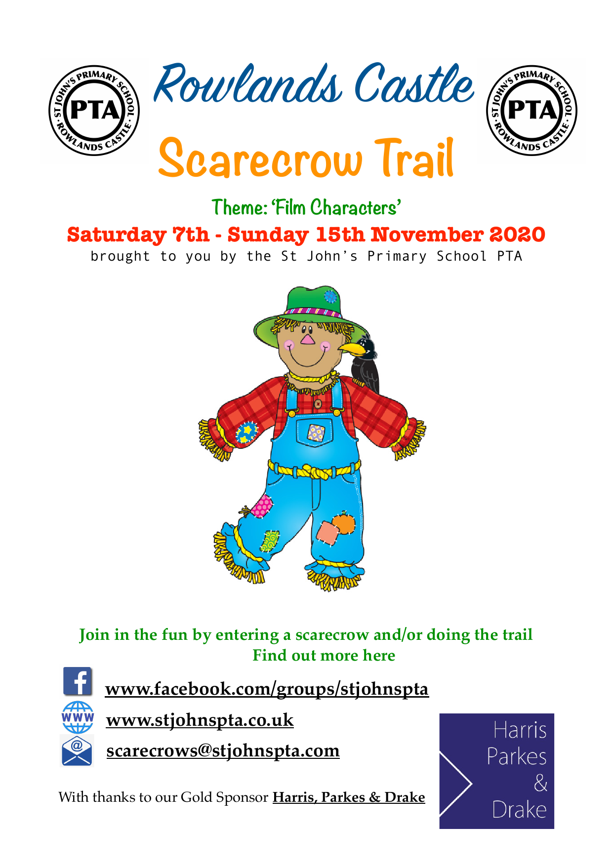 Rowlands Castle Scarecrow Trail 2020